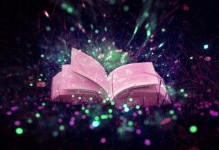 czytanie dzieciom baśni - księga